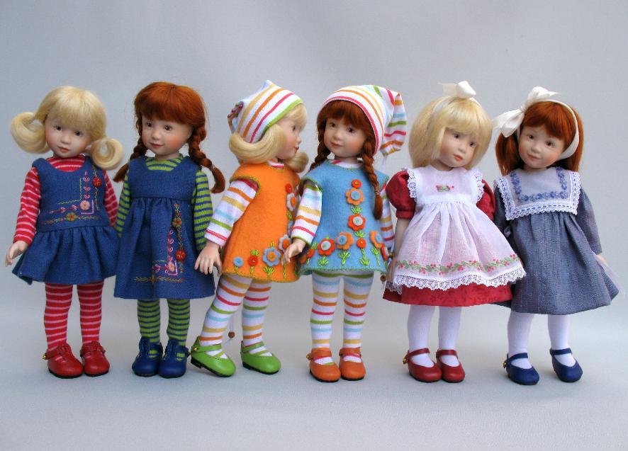 Heather Maciak  8 Porcelain LEXIE SHIP AHOY! Puppen & Zubehör